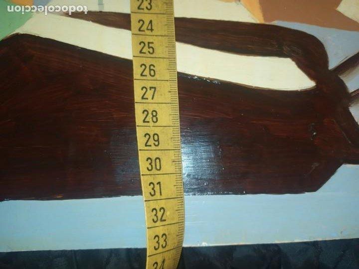 Varios objetos de Arte: ÓLEO SOBRE TABLA PICASIANO ATRIBUIDO A RAMÓN IRANZO ANTIGUO PICASSO VISITE MIS OTROS RAMÓN IRANZO - Foto 10 - 191660923
