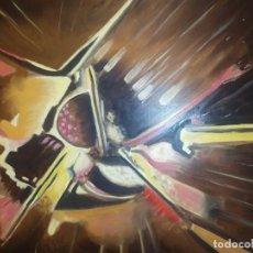 Varios objetos de Arte: ÓLEO SOBRE TABLA ATRIBUIDO RAMÓN IRANZO FUTURISTA VISITE MIS OTROS ANUNCIOS IRANZO. Lote 191660981