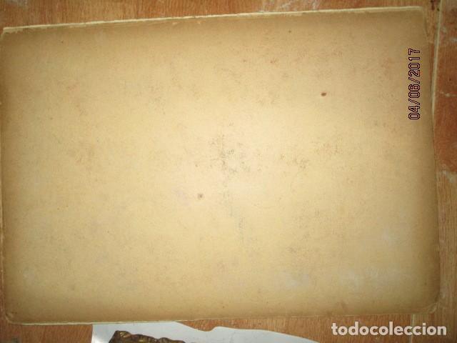 Varios objetos de Arte: PINTURA IMPRESIONISTA FIRMADA ANTIGUO PRINCIPIOS DE SIGLO BOCETO EN CARTON DURO - Foto 3 - 174426915