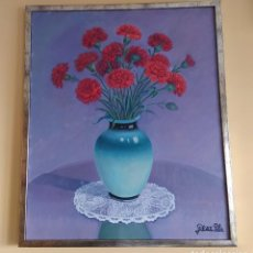 Varios objetos de Arte: CUADRO, RAM DE FLORS, PERE PLA. Lote 193398456