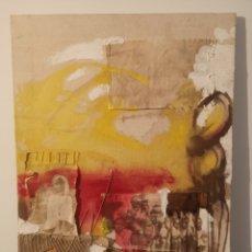 Varios objetos de Arte: TECNICA MIXTA FIRMADO POR DAVINIA . 50X70CM. Lote 193768060