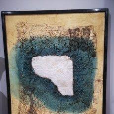 Varios objetos de Arte: C. MURANO, TECNICA MIXTA 76X95CM CON MARCO. Lote 193834187