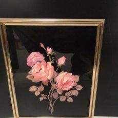 Varios objetos de Arte: PINTURA SOBRE CRISTAL. Lote 193972343