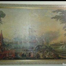 Varios objetos de Arte: GRAN CUADRO ENMARCADO (RECOGER EN TIENDA). Lote 194156383