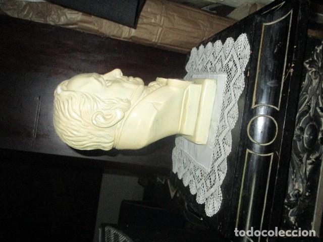 Varios objetos de Arte: betoven precioso y antiguo busto de estuco de yeso o escayola sobre 1900 - Foto 11 - 194182938