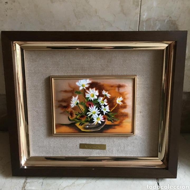 Varios objetos de Arte: pareja de cuadros. esmaltes negroni. - Foto 3 - 194207796