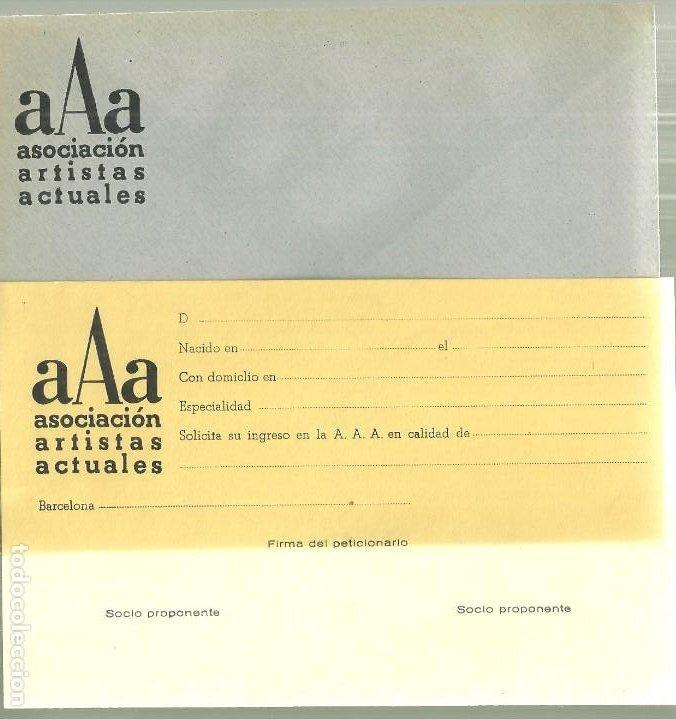 Varios objetos de Arte: 2043.- ASOCIACION DE ARTISTAS ACTUALES-PREMIOS DE MAYO-HOTEL RITZ-THARRATS-VILACASAS-PLANASDURA - Foto 5 - 194305038