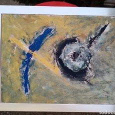 Varios objetos de Arte: CUADRO DE JAIME TRIGO. Lote 194322030