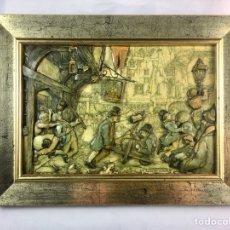 Varios objetos de Arte: CUADRO EN RELIEVE 3D DE ANTON PIECK-(19437). Lote 194349996