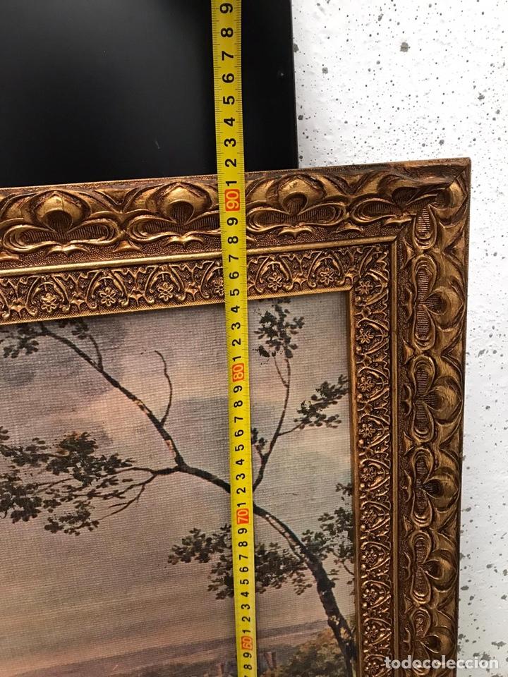 Varios objetos de Arte: Impresión sobre óleo de época - Foto 2 - 194351822