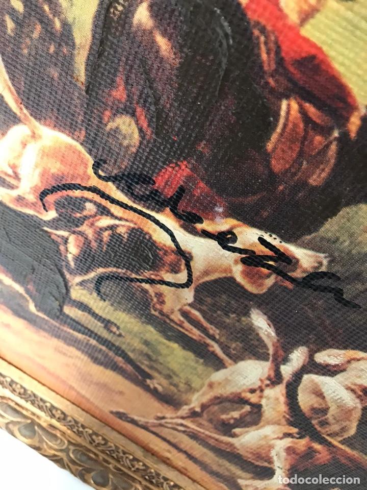 Varios objetos de Arte: Impresión sobre óleo de época - Foto 4 - 194351822