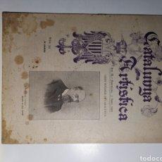 Varios objetos de Arte: REVISTA CATALUNYA ARTÍSTICA DEL 3 DE ABRIL DE 1902. AÑO III. Lote 194385711