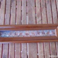 Varios objetos de Arte: CUADRO REPRESENTANDO AL PAPA INOCENCIO XI (1676 , 1689) CON LOS REYES Y GOBERNANTES DE LA ÉPOCA . Lote 194396518