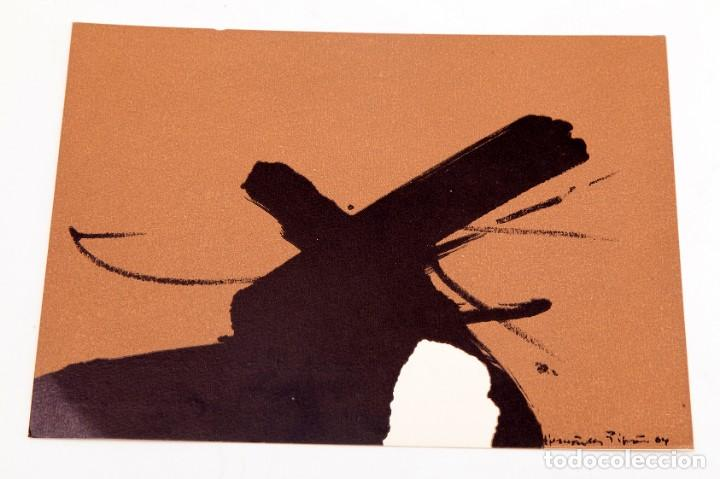 JOAN HERNANDEZ PIJUAN - 1964 - TARJETON LITOGRÁFICO (Arte - Varios Objetos de Arte)
