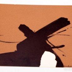Varios objetos de Arte: JOAN HERNANDEZ PIJUAN - 1964 - TARJETON LITOGRÁFICO. Lote 194514585