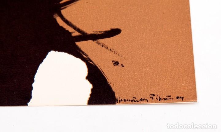 Varios objetos de Arte: JOAN HERNANDEZ PIJUAN - 1964 - TARJETON LITOGRÁFICO - Foto 2 - 194514585