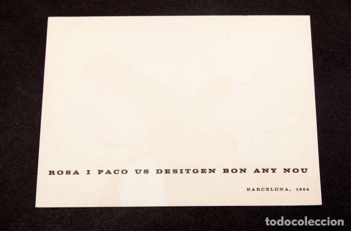 Varios objetos de Arte: JOAN HERNANDEZ PIJUAN - 1964 - TARJETON LITOGRÁFICO - Foto 3 - 194514585