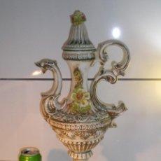 Varios objetos de Arte: JARRÓN CERÁMICA DECORATIVO CISNE LIQUIDACIÓN. Lote 194526498