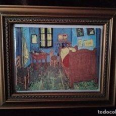 Varios objetos de Arte: LA HABITACION DE VINCENT VAN GOTH. CERAMICA. ENMARCADO.. Lote 194710953