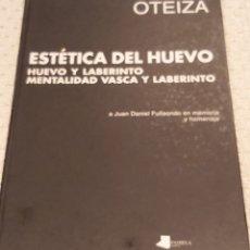 Varios objetos de Arte: JORGE OTEIZA. Lote 194721178