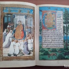 Varios objetos de Arte: LIBRO DE HORAS DE CARLOS V / FACSÍMIL . Lote 194787803