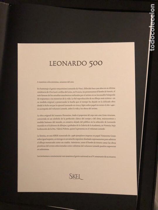 Varios objetos de Arte: Leonardo 500 - Foto 3 - 194893882