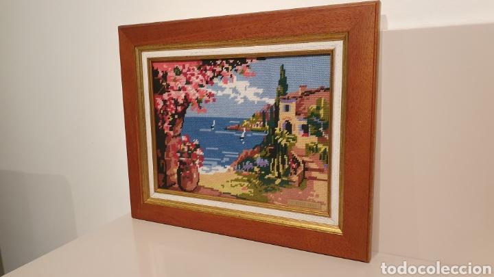 Varios objetos de Arte: PRECIOSO CUADRO BRODADO DE PUNTO DE CRUZ/ MIREN LAS FOTOGRAFÍAS/ SALIDA 1€ - Foto 3 - 194897388