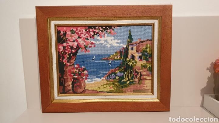 Varios objetos de Arte: PRECIOSO CUADRO BRODADO DE PUNTO DE CRUZ/ MIREN LAS FOTOGRAFÍAS/ SALIDA 1€ - Foto 8 - 194897388