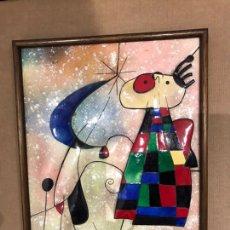 Varios objetos de Arte: CUADRO PICASSO ESMALTE. Lote 194956321