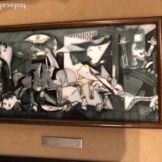 Varios objetos de Arte: CUADRO GERNIKA PICASSO ESMALTE. Lote 194957796