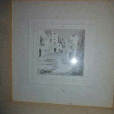 Varios objetos de Arte: CUADRO CON 3 FOTOS ANTIGUAS. Lote 194973392