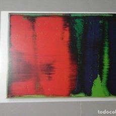 Varios objetos de Arte: GERHARD RICHTER. EDITION FOR PARKETT 35. POSTAL 10,5 X 15 CM. PINTURA. ARTE CONTEMPORÁNEO.. Lote 194977080