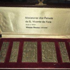 Varios objetos de Arte: MINIATURAS PANELES DE NUNO GONÇALVES. Lote 195124785