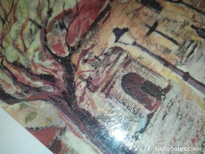 Varios objetos de Arte: ÓSCAR PINAR ÁLVARO 1998 PLÁSTICA FIGURATIVA CUADRO PINTURA ENMARCADO PLAZA CUENCA ÚNICO EN VENTA TC - Foto 3 - 195137753