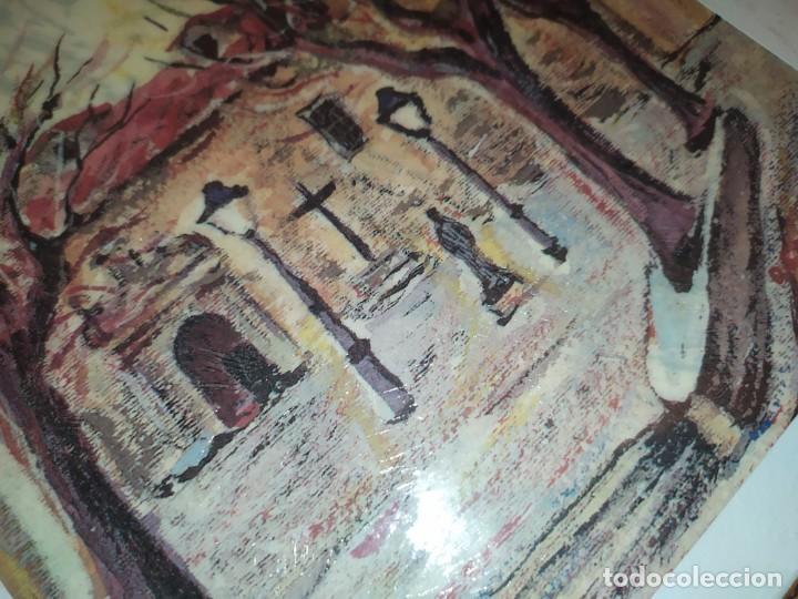 Varios objetos de Arte: ÓSCAR PINAR ÁLVARO 1998 PLÁSTICA FIGURATIVA CUADRO PINTURA ENMARCADO PLAZA CUENCA ÚNICO EN VENTA TC - Foto 4 - 195137753