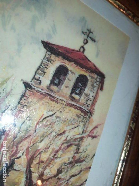 Varios objetos de Arte: ÓSCAR PINAR ÁLVARO 1998 PLÁSTICA FIGURATIVA CUADRO PINTURA ENMARCADO PLAZA CUENCA ÚNICO EN VENTA TC - Foto 10 - 195137753