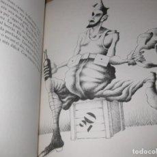 Varios objetos de Arte: TOTES LES GUERRES SON UNA GUERRA . FRANCESC RODON I ROVIRA BRULL EJEMPLAR 53 /100 FIRMADO 1989 . Lote 195154335