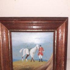 Varios objetos de Arte: CUADRO EN MINIATURA. Lote 195200968