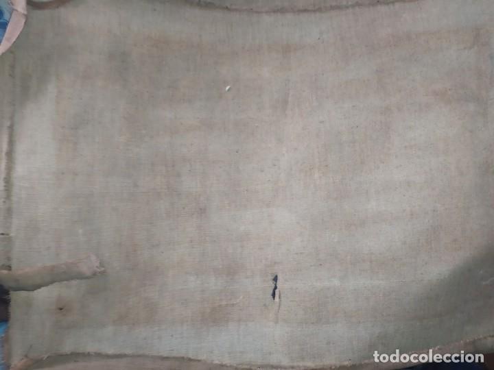 Varios objetos de Arte: LOTE ANTIGUOS ÓLEO SOBRE LIENZO FLORES SOBRE PAISAJE COSTA ISLA PRECIOSOS AÑOS 40 FIRMADOS P.YSLA - Foto 33 - 195210358