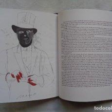 Varios objetos de Arte: EDUARDO ARROYO (1937-2018). CHIMENEAS Y DESHOLLINADORES. 1994. CON 12 DIBUJOS DEL ARTISTA.. Lote 195232648