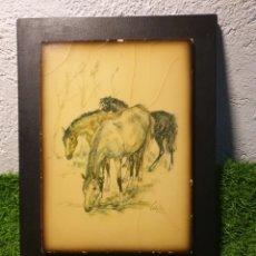 Varios objetos de Arte: CUADRO ANTIGUO. Lote 195236095
