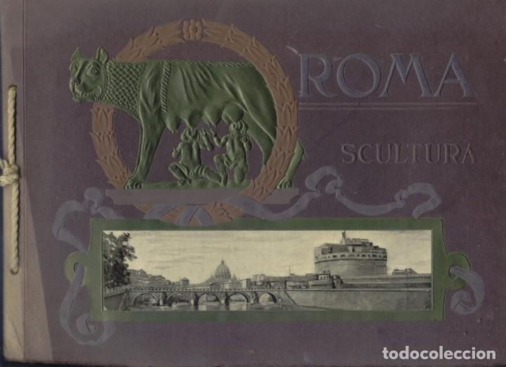 SCULTURE ARTISTICHE DELLE GALLERIE DI ROMA (Arte - Varios Objetos de Arte)