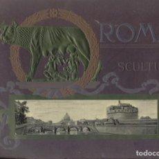 Varios objetos de Arte: SCULTURE ARTISTICHE DELLE GALLERIE DI ROMA. Lote 195321150
