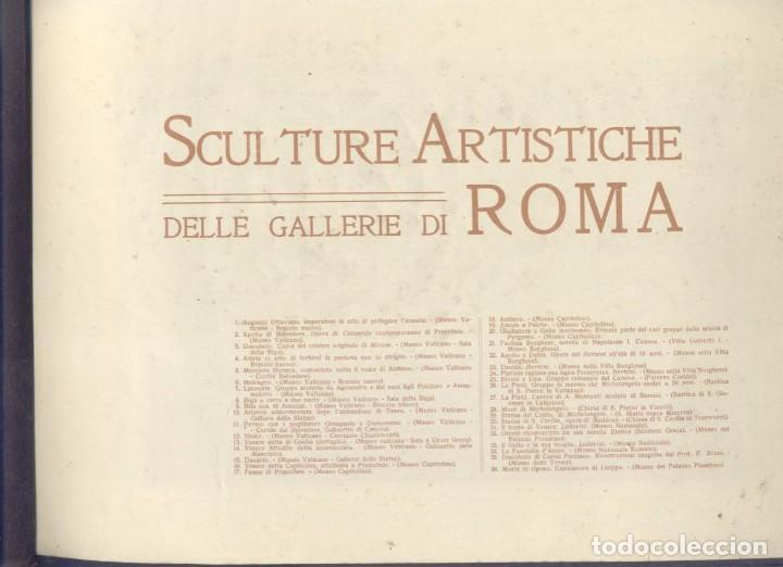 Varios objetos de Arte: Sculture Artistiche delle Gallerie di Roma - Foto 2 - 195321150