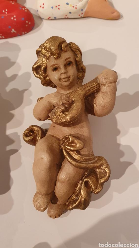 Varios objetos de Arte: LOTE 7 FIGURAS VINTAGE DE YESO PARA COLGAR EN LA PARED/ MIREN LAS FOTOGRAFÍAS! - Foto 13 - 195329057