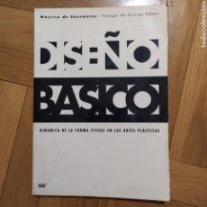 Varios objetos de Arte: DISEÑO BÁSICO. DINÁMICA DE LA FORMA VISUAL EN LAS ARTES PLÁSTICAS. Lote 195343390
