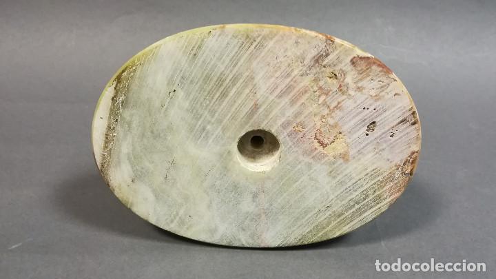 Varios objetos de Arte: BASE PEANA ONIX PAKISTAN OVALADA - Foto 8 - 195372451
