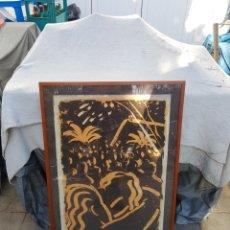 Varios objetos de Arte: SERIGRAFIA ORIGINAL DE ROMA PANADES NUMERADA 155/300. Lote 195396967