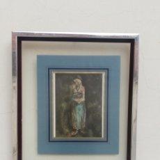 Varios objetos de Arte: BONITO CUADRO MADRE Y HIJO IMITACIÓN PABLO PICASSO. Lote 196074793