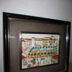 Varios objetos de Arte: CUADRO PLAZA DE LOS NARANJOS MARBELLA. Lote 196111388